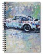 Porsche 911 Sc  Rallye Sanremo 1981 Spiral Notebook