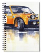 Porsche 914-6 Gt Rally Spiral Notebook