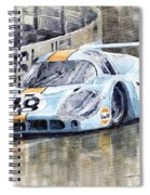 Porsche 917 Lh 24 Le Mans 1971 Rodriguez Oliver Spiral Notebook