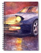 Porsche 944 Turbo Spiral Notebook