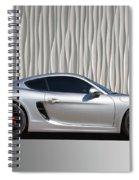 Porsche Beautiful Dream Sports Car Spiral Notebook