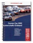 Porsche Carrera Cup 1992 Spiral Notebook