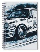 Porsche Carrera Rsr, 1973 - 06 Spiral Notebook