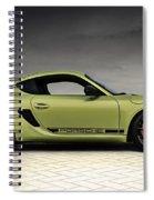 Porsche Cayman R Spiral Notebook