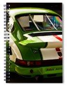 Porsche Spiral Notebook