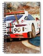 Porsche Gt3 Martini Racing - 02 Spiral Notebook