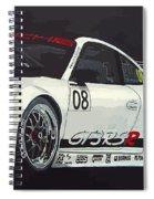 Porsche Gt3 Rsr Spiral Notebook