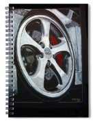 Porsche Techart Wheel Spiral Notebook