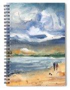 Port Alcudia Beach 03 Spiral Notebook