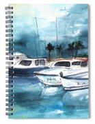 Port Alcudia Harbour 01 Spiral Notebook
