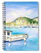 Port Andratx 01 Spiral Notebook