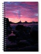 Port Angeles Harbor Eleven Spiral Notebook