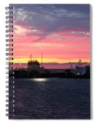 Port Angeles Harbor Thirteen Spiral Notebook