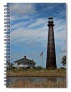 Port Bolivar Lighthouse Spiral Notebook