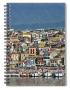 Port City Parga Greece - Dwp1163344 Spiral Notebook