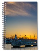 Port Credit 4 Spiral Notebook