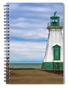 Port Dalhousie Lighthouse 1 Spiral Notebook