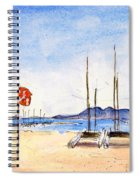 Port De Pollenca 02 Spiral Notebook
