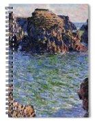 Port Goulphar Belle Ile Brittany Spiral Notebook