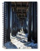 Port Hueneme Pier - Waves Spiral Notebook