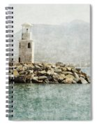 Port In Alanya City-turkey  Spiral Notebook