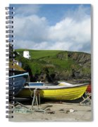 Port Isaac Boats Spiral Notebook