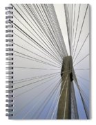 Port Mann Bridge Spiral Notebook