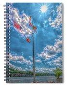 Port Of Florence Spiral Notebook