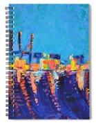 Port Of Malaga Spiral Notebook