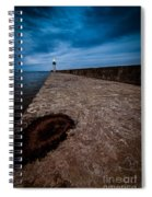 Port Of Newcastle Spiral Notebook