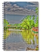 Port Of Pittsford, Ny Spiral Notebook