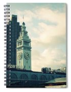 Port Of San Francisco Spiral Notebook