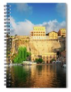Port Of Sorrento, Southern Italy Spiral Notebook