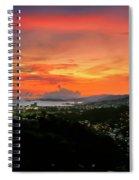 Port Of Spain Sunset Spiral Notebook