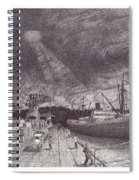 Port Of Tacoma Wa Waterfront Spiral Notebook