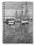 Port Orchard Marina Spiral Notebook