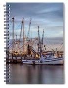 Port Royal Shrimp Boats Spiral Notebook