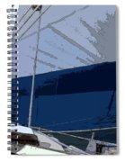 Port Tack Spiral Notebook