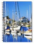 Port Townsend Harbor Spiral Notebook