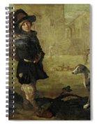 Portarolo Col Cane Spiral Notebook