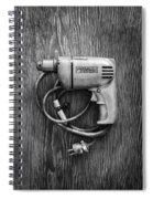 Porter Cable Drill On Plywood 76 In Bw Spiral Notebook