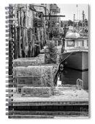 Portland Dock Spiral Notebook