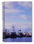 Portland Harbor Panaramic Spiral Notebook