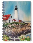 Portland Head Light Spiral Notebook