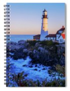 Portland Head Light II Spiral Notebook