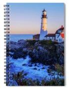 Portland Head Light II Spiral Notebook