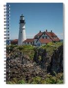 Portland Head Lighthouse Spiral Notebook
