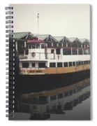 Portland Morning Fog Spiral Notebook