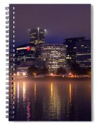 Portland Night Skyline Spiral Notebook