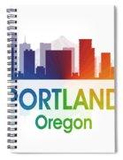 Portland Or Spiral Notebook